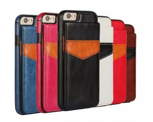 Iphone KickStand Leather Wallet
